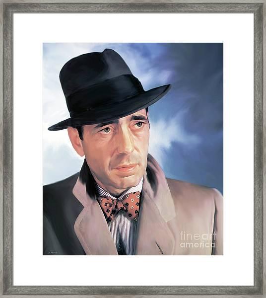 Bogart Framed Print