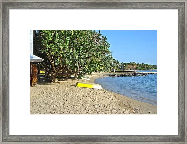 Boqueron Bay Framed Print