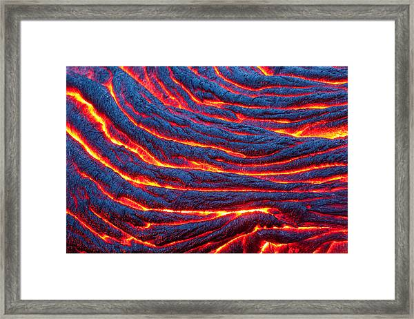 Born In Fire Framed Print by Thorsten Scheuermann