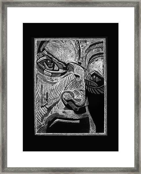 Boss Man Framed Print
