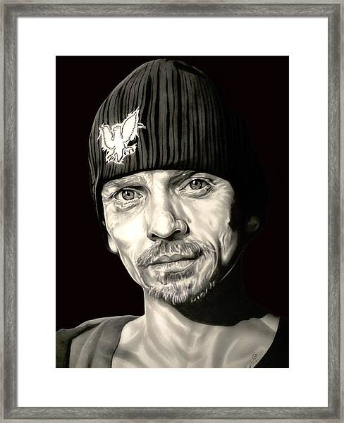 Breaking Bad Skinny Pete Framed Print