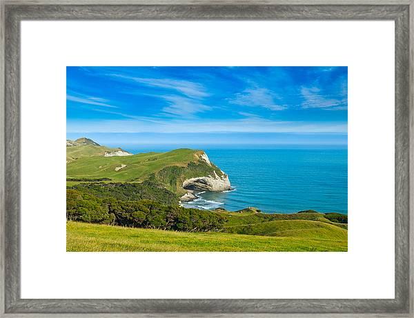 Cape Farewell Able Tasman National Park Framed Print