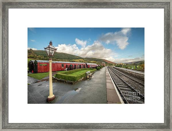 Carrog Railway Station Framed Print