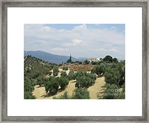 Caseria De San Jose Near Iznajar Framed Print