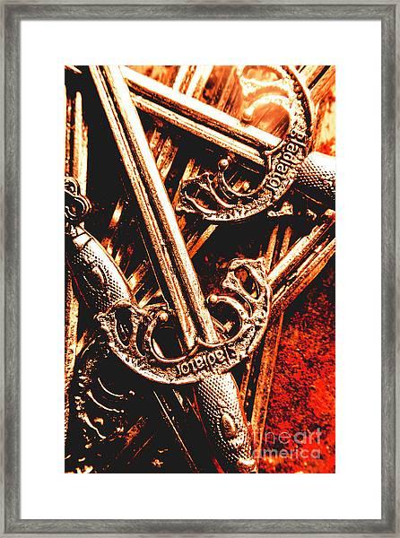 Centurion Of Battle Framed Print