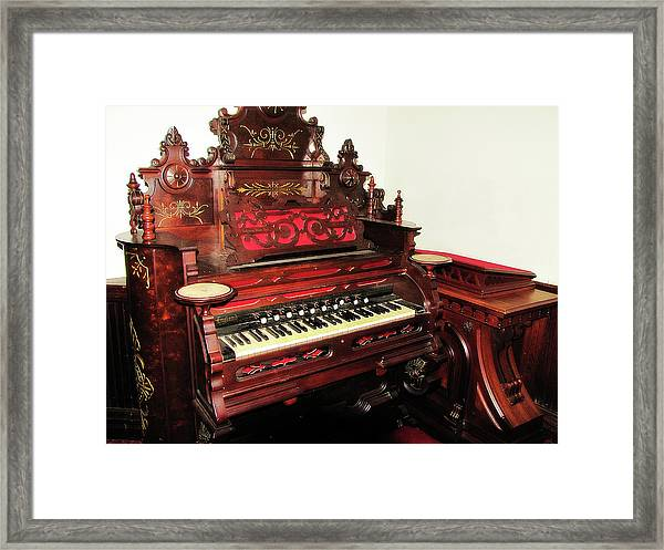 Church Organ Framed Print
