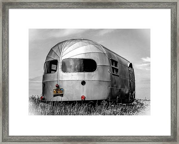 Classic Airstream Caravan Framed Print