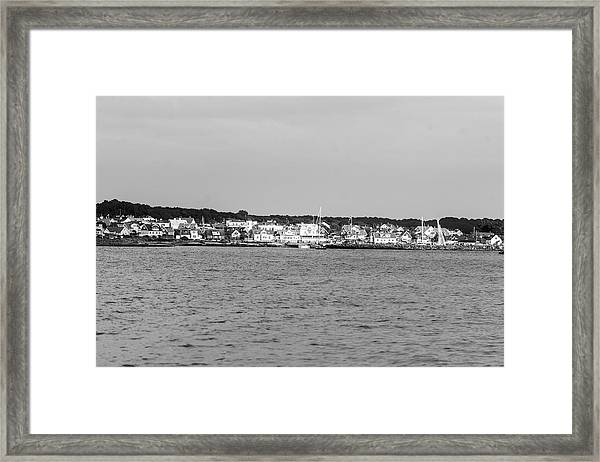 Coastline At Molle In Sweden Framed Print