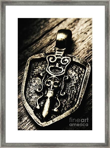 Coat Of Arms Framed Print