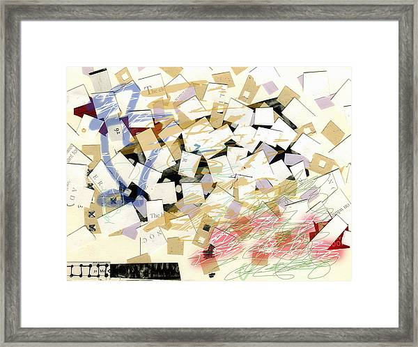 Collage4 Framed Print