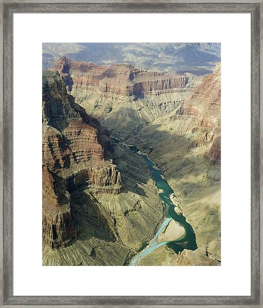 Colorado River In The Grand Canyon Framed Print