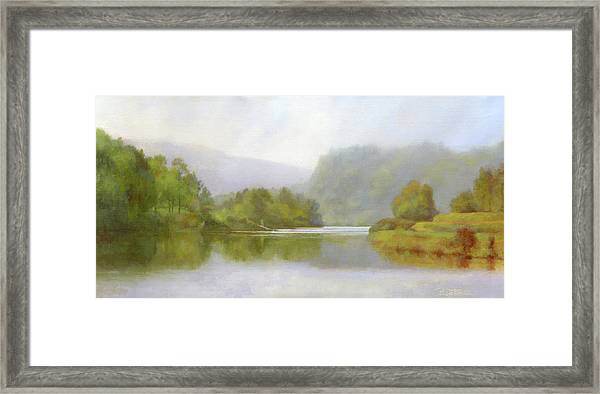 Connecticut River From River Road II Framed Print