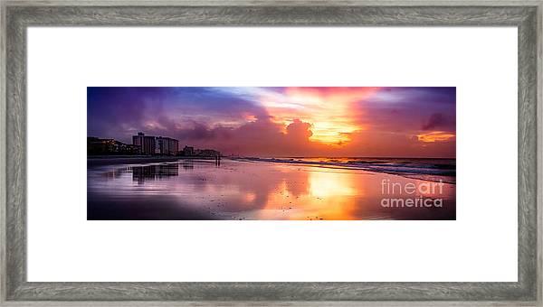 Crescent Beach September Morning Framed Print