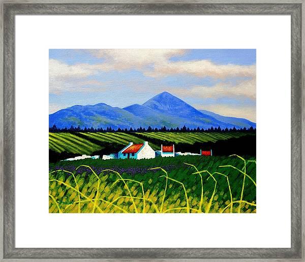 Croagh Patrick County Mayo Framed Print