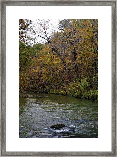 Current River 8 Framed Print