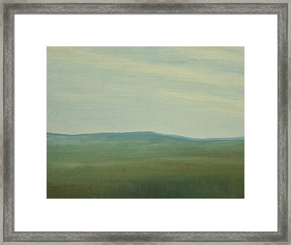 Dagrar Over Salenfjallen- Shifting Daylight Over Distant Horizon 5 Of 10_0029 91x61 Cm Framed Print