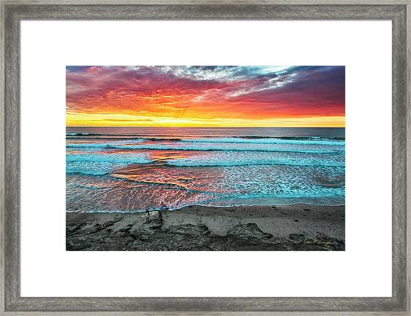 Day's Done Framed Print