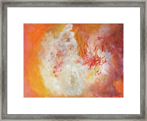 Dervish Framed Print by Bebe Brookman