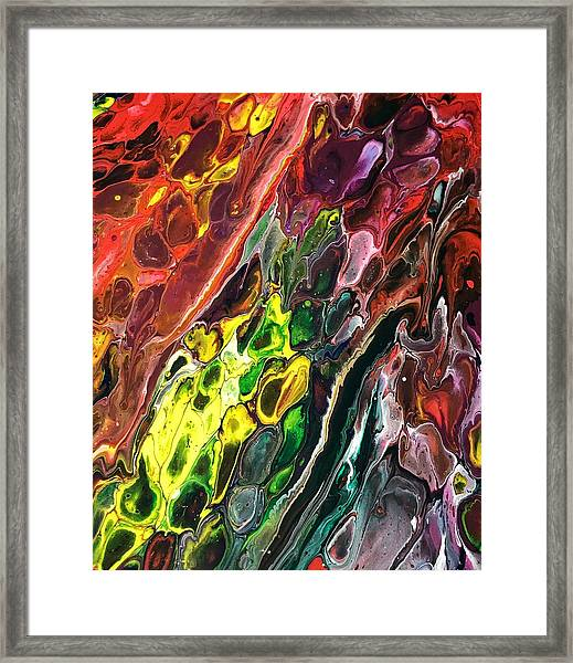 Detail Of Auto Body Paint Technician 2 Framed Print