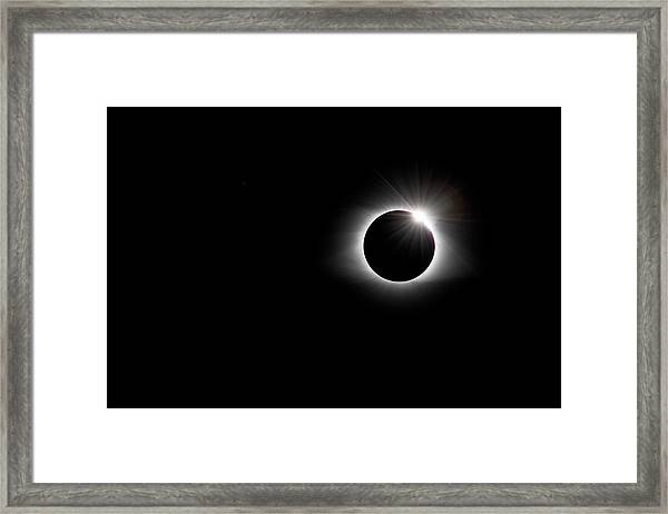 Diamond Ring  Framed Print