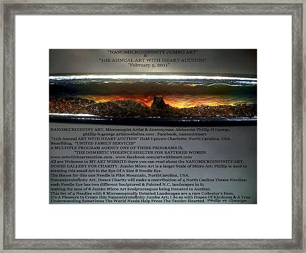 Donee Art Framed Print by Phillip H George