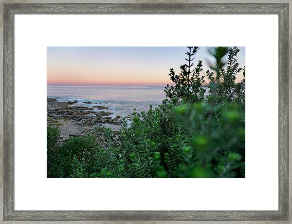 Down To The Water Framed Print