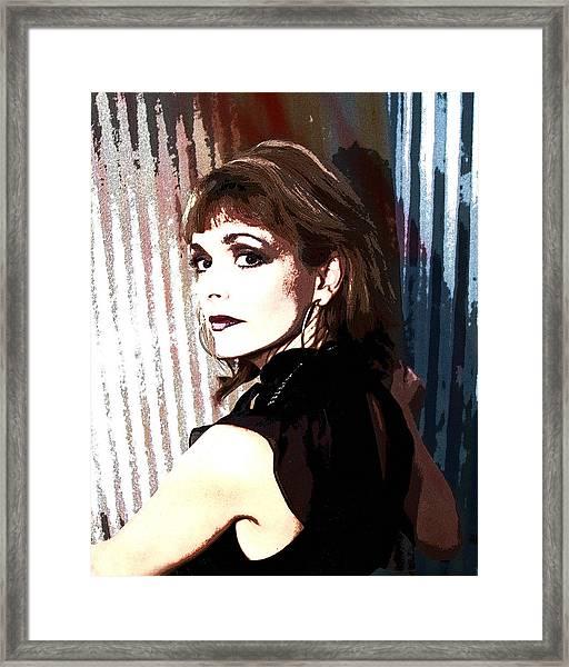 Dr. Gina Loudon Framed Print