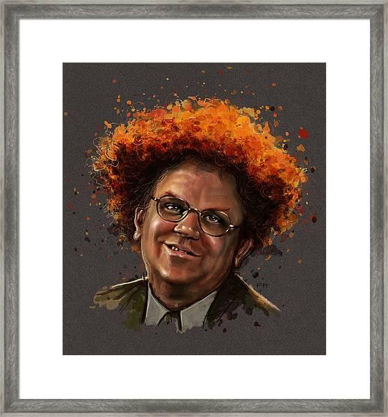 Dr. Steve Brule  Framed Print