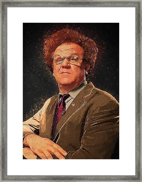 Dr Steve Brule Framed Print