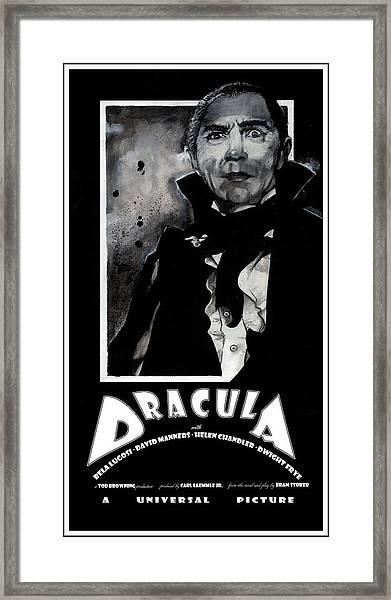 Dracula Movie Poster 1931 Framed Print