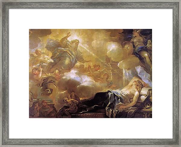 Dream Of Solomon Framed Print