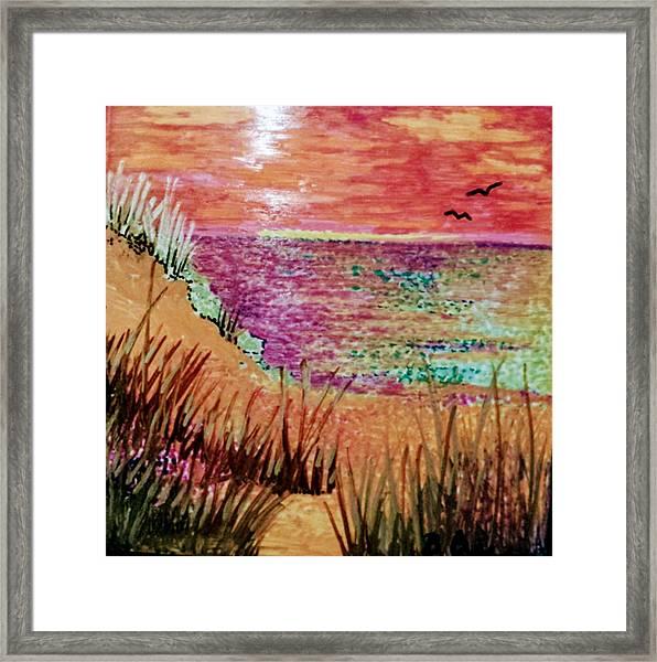 Dune Dreaming Framed Print