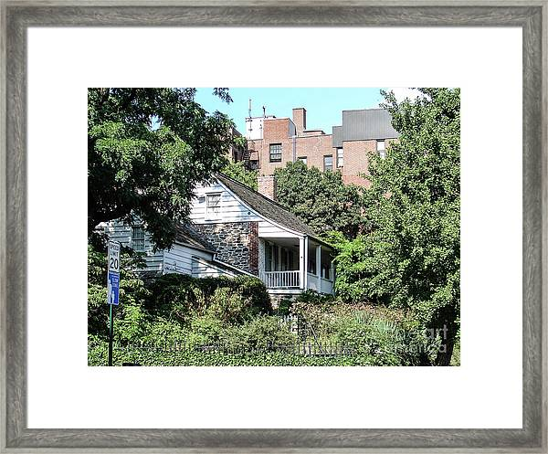Dyckman House Framed Print