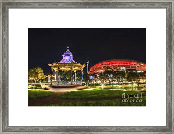 Elder Park Elegance Framed Print
