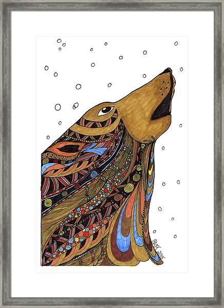 Eli Wolf Framed Print