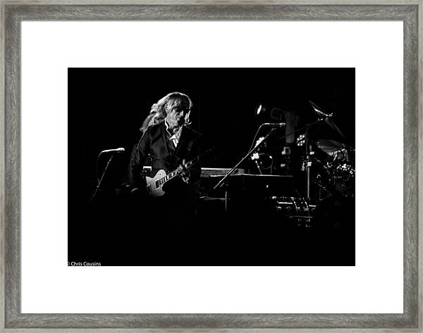 Elton John And Band In 2015 Framed Print