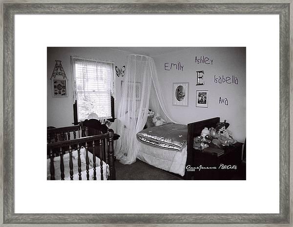 Emily Ashley Isabella Ava Framed Print