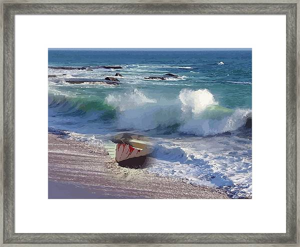 Everything Returns To It's Source Framed Print