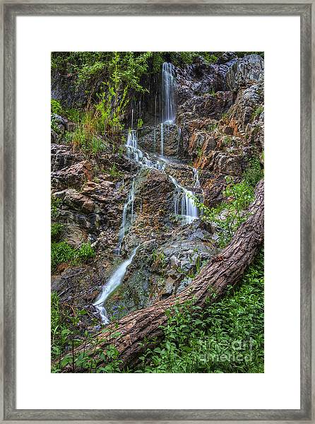 Fairy Falls Framed Print