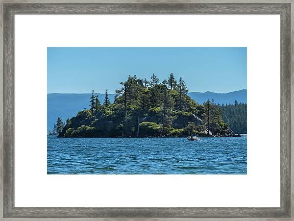 Fannette Island Framed Print