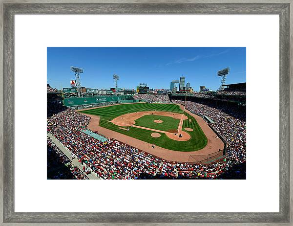 Fenway Park - Boston Red Sox Framed Print