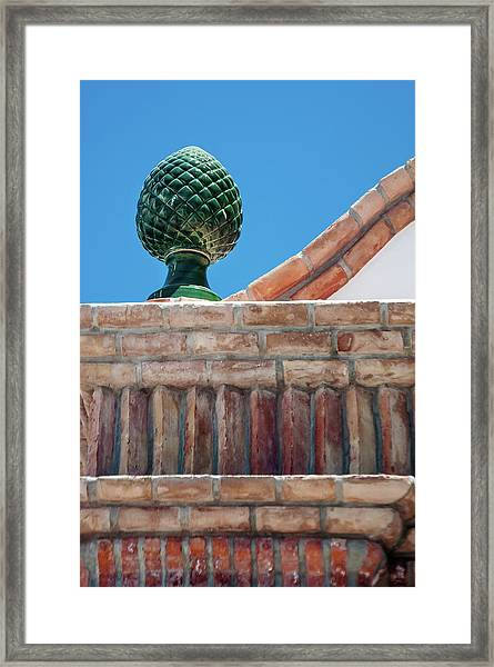 Finial Framed Print