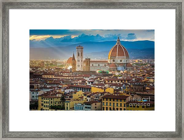 Firenze Duomo Framed Print