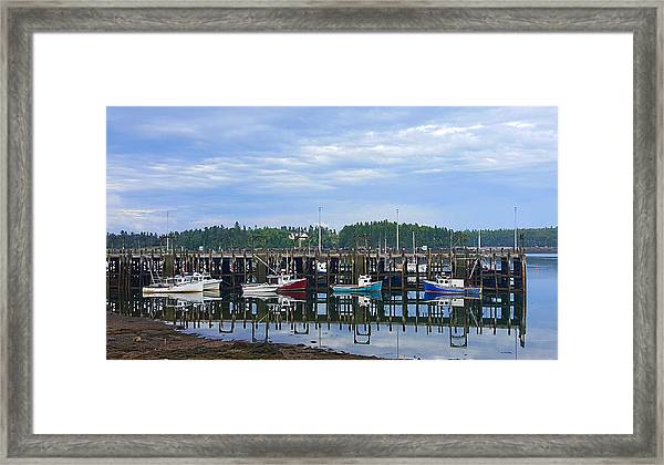 Fishing Boats - Beaver Harbour Framed Print