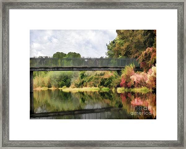 Five Mile Bidwell Park Framed Print