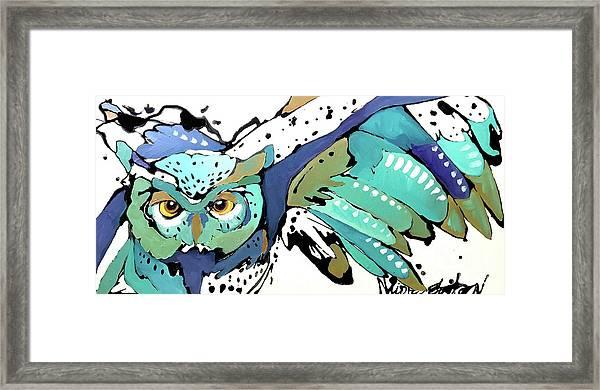 Flying Home Framed Print