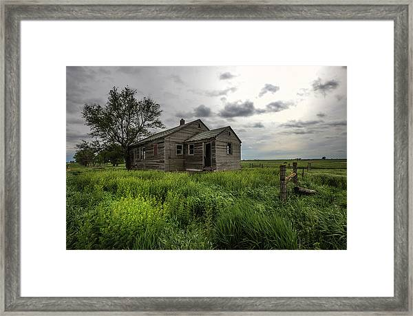 Forgotten On The Prairie Framed Print