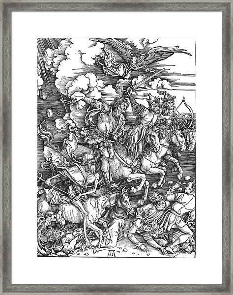 Four Horsemen Of The Apocalypse Framed Print