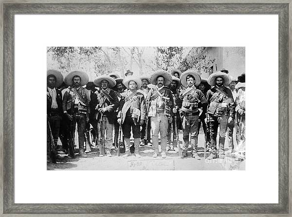 Francisco Pancho Villa Framed Print