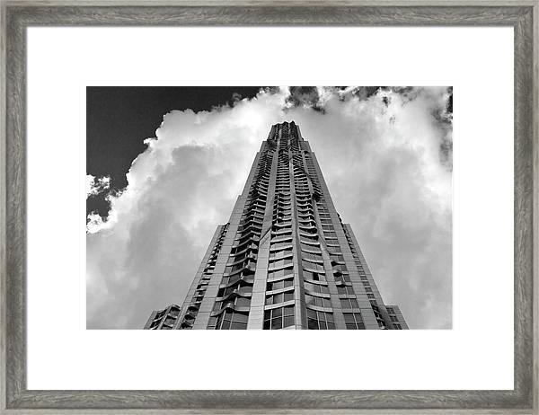 Frank Gehry High Rise Lower Manhattan Framed Print